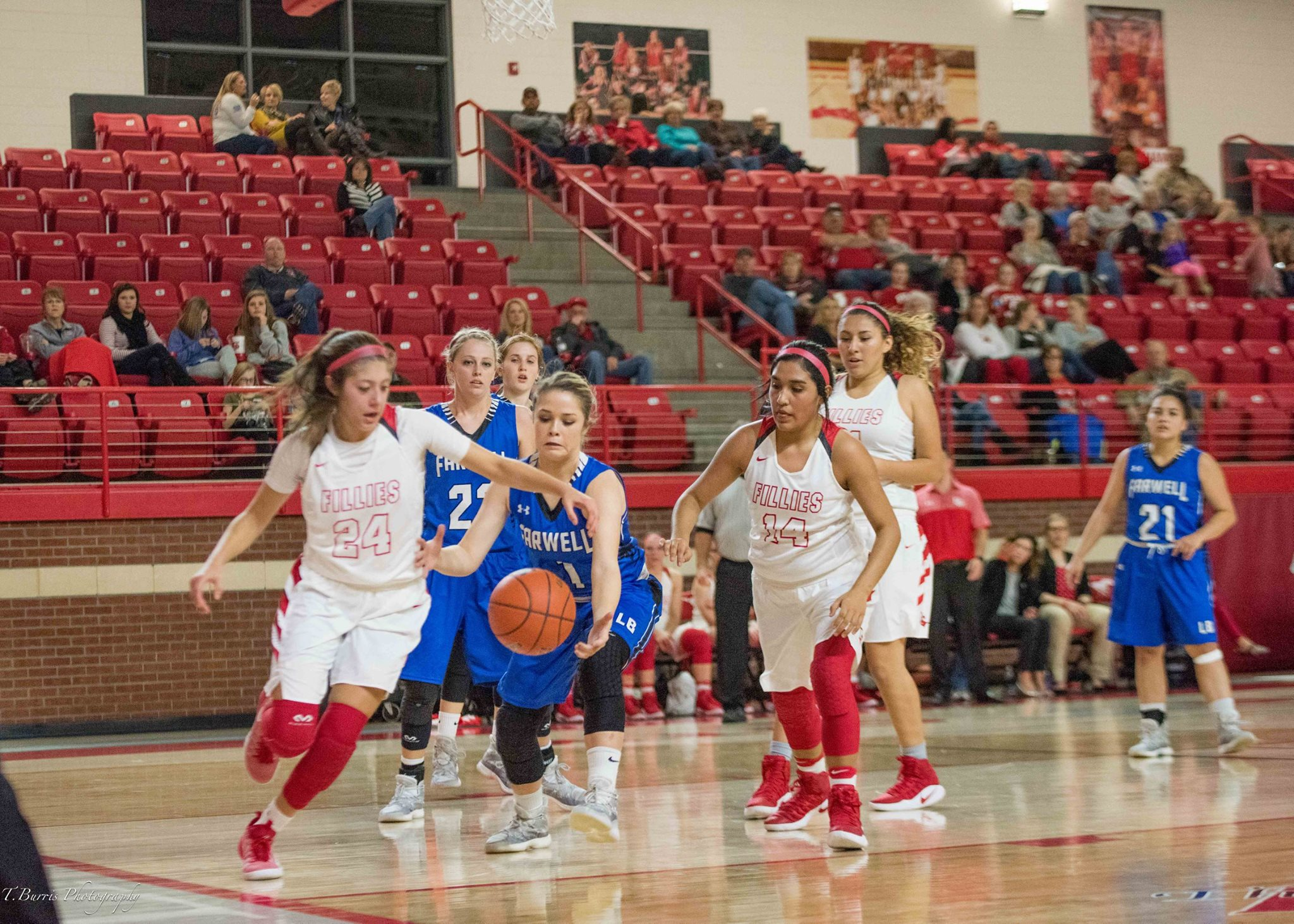 Fillies Fall to Levelland in OT;Poor shooting leads to loss