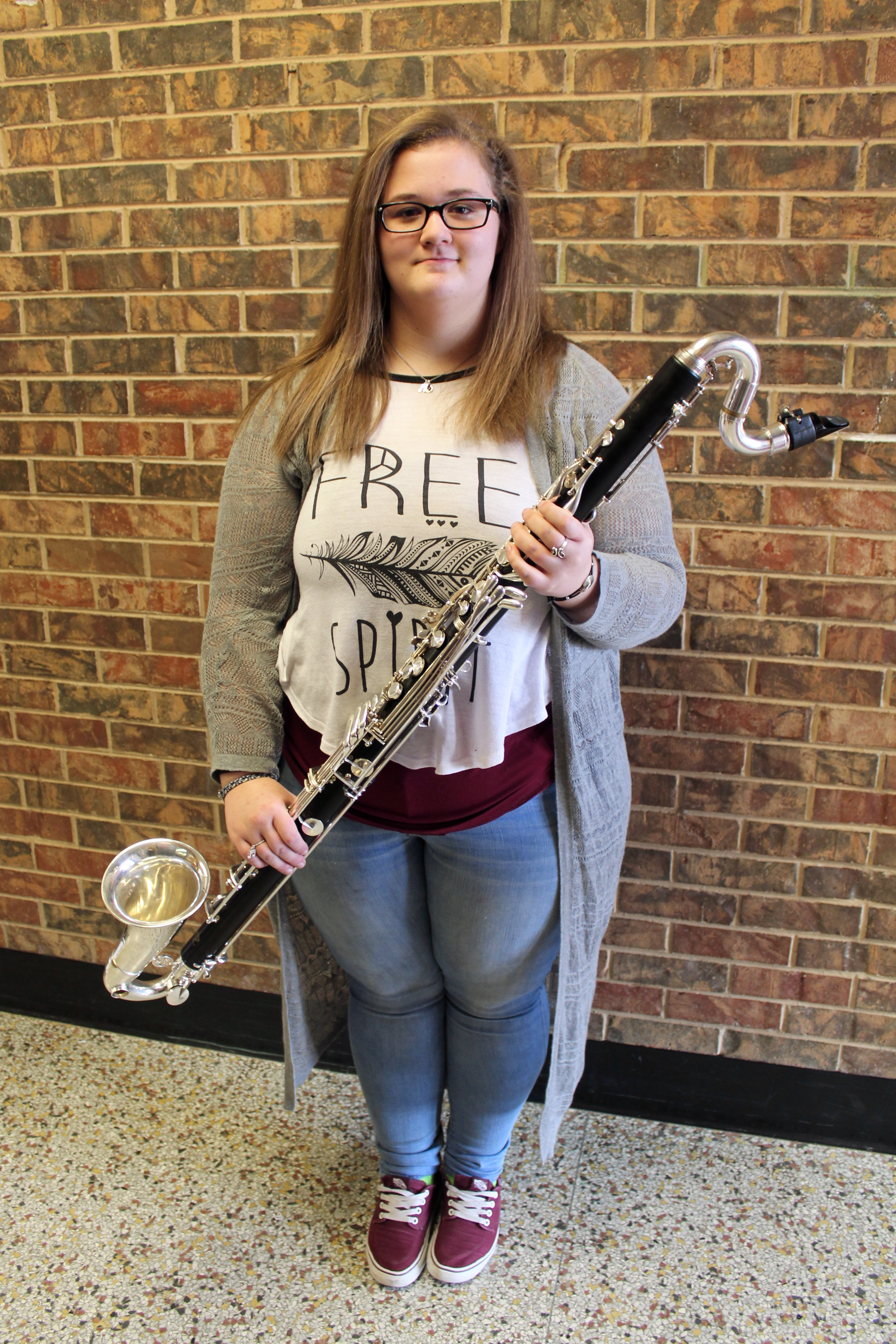 Macy Vincent makes All-State Band