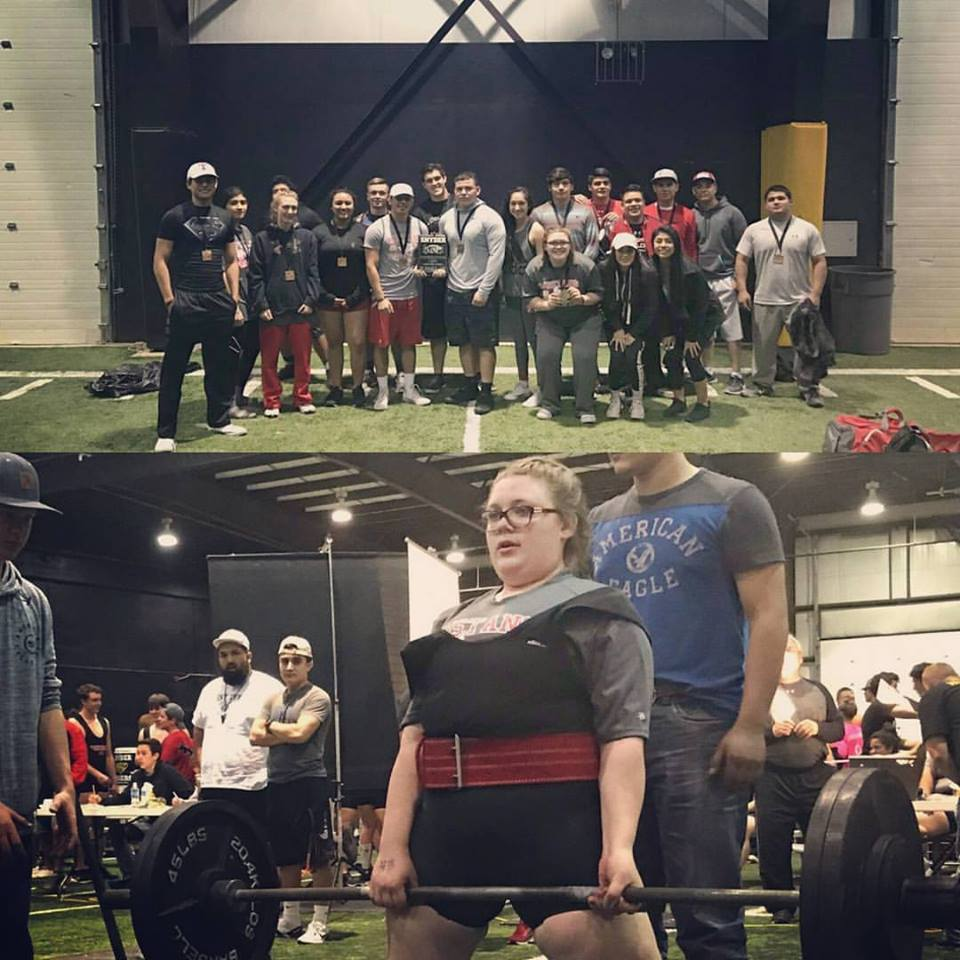 Power Lifting Teams Compete in First Meet