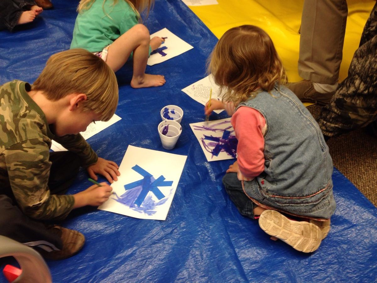Snow Show at Yoakum County Library in Plains