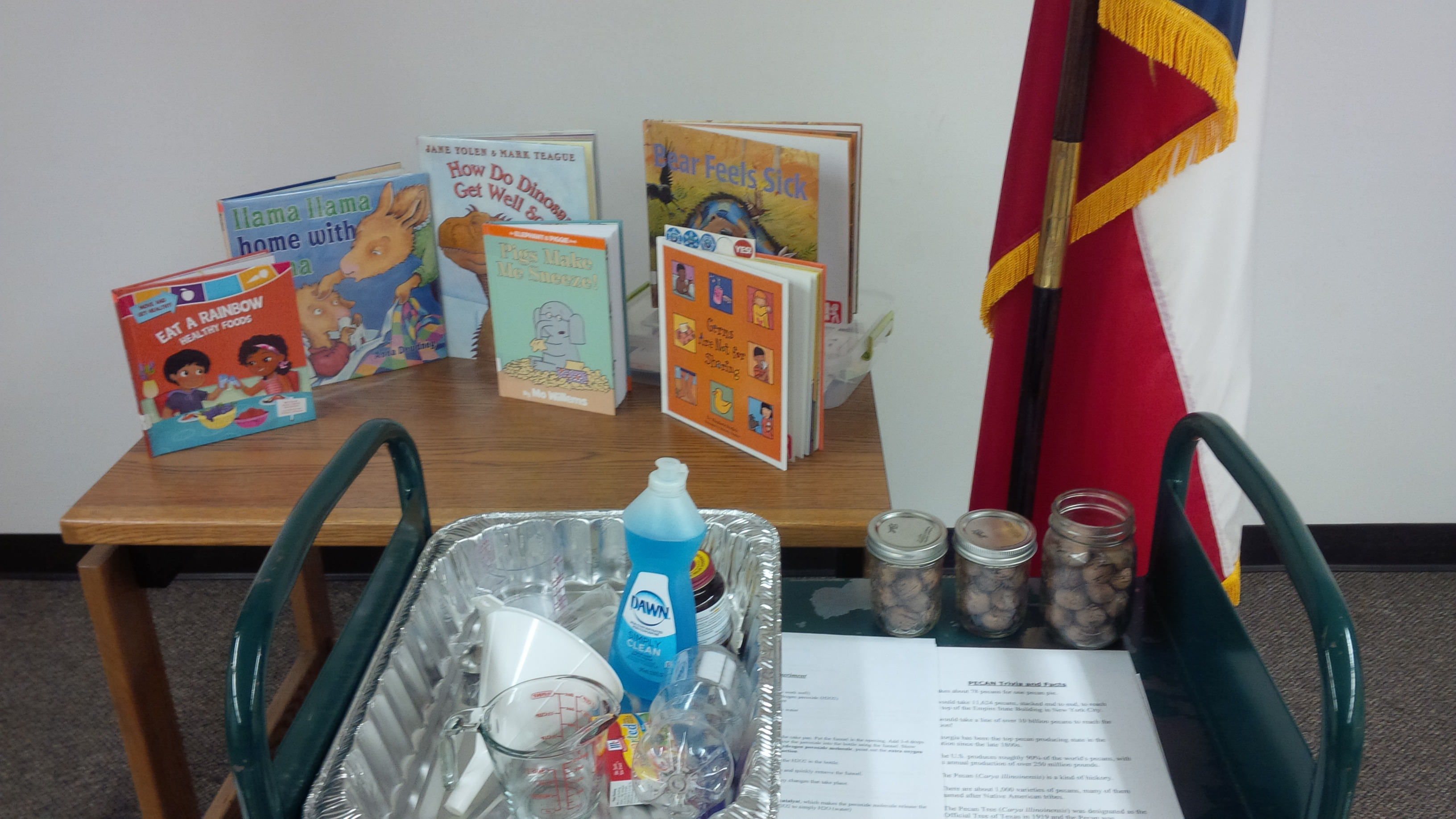 Health Nuts StoryTime at Yoakum County Library in Plains
