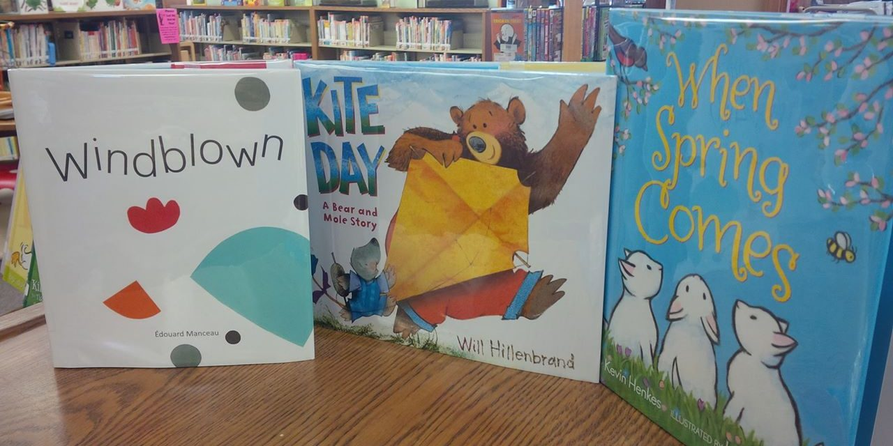 Windy StoryTime at Yoakum County Library in Plains