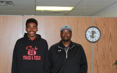 SportsBeat: Coach Hood and Darius Kyle Talk Brownfield Track