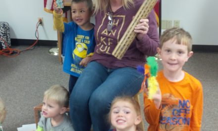 Spring Showers at StoryTime Yoakum Co. Library