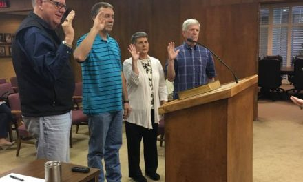 Brownfield City Council Swears in New Council Members