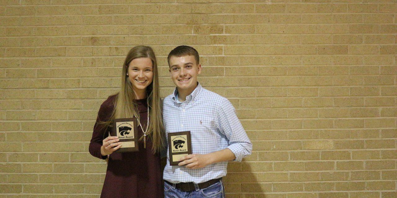 Wellman-Union High School Awards