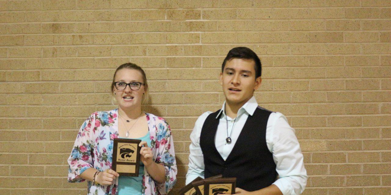 Wellman-Union High School Athletic Awards