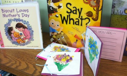 StoryTime Loves Mamas at Yoakum Co. Library in Plains