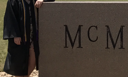 Haley Welch Graduates from McMurry