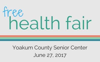 LISTEN NOW: Yoakum Co. Senior Citizens Center on TTS