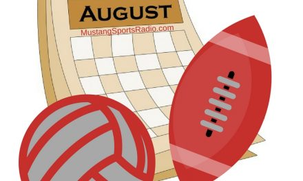 August Means Volleyball and Football Season in Denver City