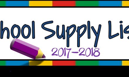 Gravitt Jr. High School Supply List 2017-18