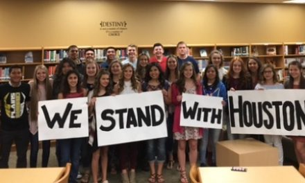 Plains High School Student Council raises funds to help with Hurricane Harvey