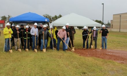 Rain Didn't Stop The Ground Breaking of New Firehouse