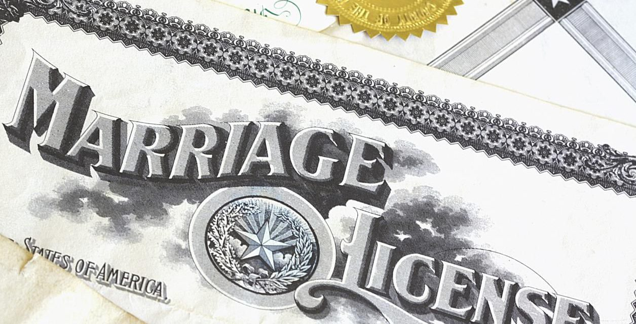 New Texas Marriage License Law Requirements Begin Friday