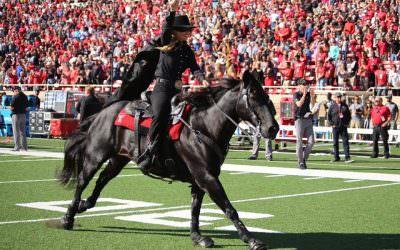 SportsBeat: Texas Tech Masked Rider Laurie Tolboom