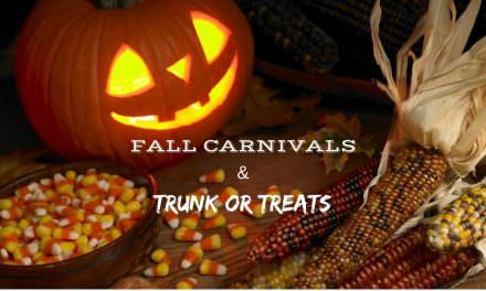 Local Fall Carnivals and Trunk or Treat Schedules