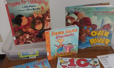 Thanksgiving Feast at StoryTime, Yoakum County Library in Plains