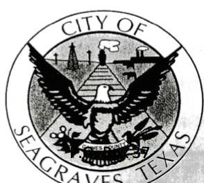 The City of Seagraves is getting ready for the Election