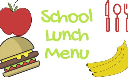 School Lunch Menus for Brownfield and Wellman-Union ISD for Sept. 4th-7th, 2018