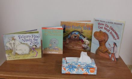 Yoakum County Library: Health Nuts at StoryTime!