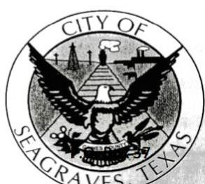 Seagraves City Council Meeting July 9, 2018