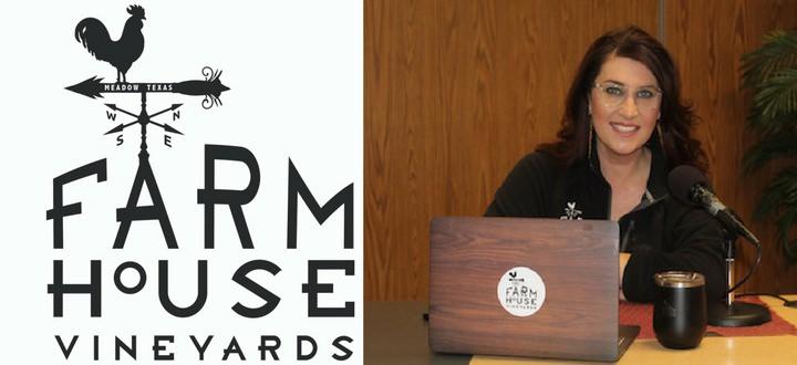 LISTEN NOW: TownTalk Visits With Katy Jane Seaton of Farmhouse Vineyards & Whitehouse Parker Tasting Room