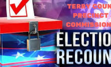 RECOUNT UPDATE: Terry Co. Precinct 4 GOP Commissioners Race, One Added, One Taken Away