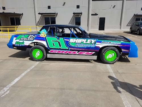 SportsBeat: Local Race Car Driver Aaron Corley Ready For Opening Night