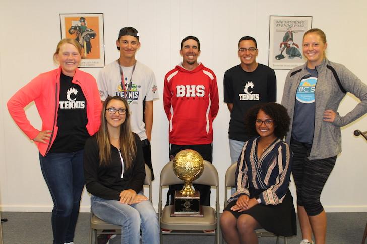 SportsBeat: District 2-4A Tennis Champs, Brownfield High Tennis Team