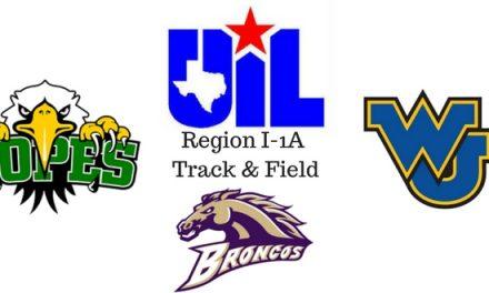 Region I-1A Track & Field Meet Set