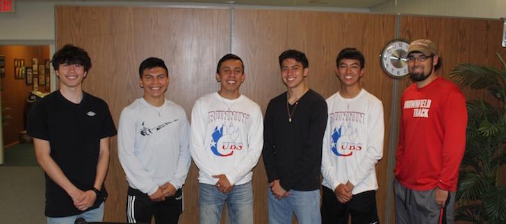 SportsBeat: Brownfield Running Cubs Mile Relay Team
