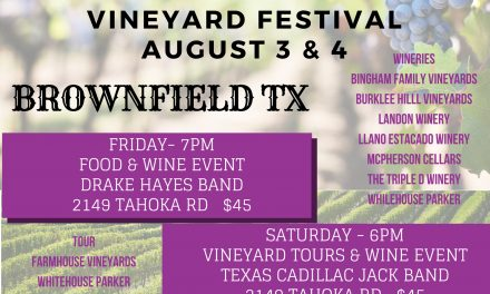 Listen Now: TownTalk visits with the Brownfield Chamber about Vineyard Festival