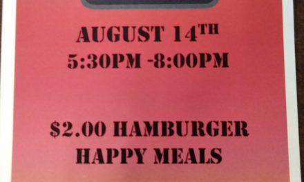 McFamily Fun Night August 14th