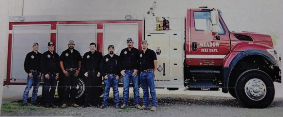 Meadow Volunteer Fire Department is Ready When You Need Them!