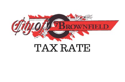 Property Taxes for the City of Brownfield Going Down