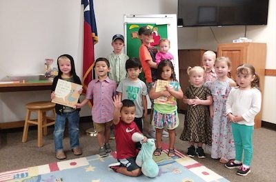 Family StoryTime at Yoakum County Library, in Plains, Thursday Mornings at 10:30