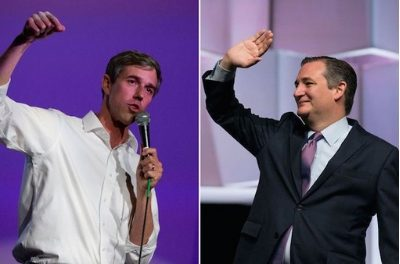 Beto O'Rourke leads Ted Cruz by 2 among likely voters in U.S. Senate race, new poll finds
