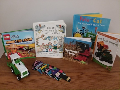 Yoakum County Library in Plains harvested a few good books for StoryTime today!