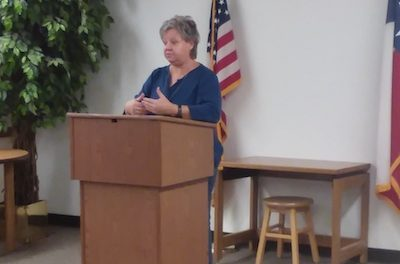 Karen Redman Williams presented information at Yoakum County Library Plains on Thursday!