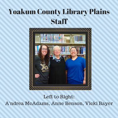 Yoakum County Library: Christmas StoryTime