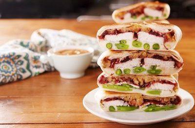 Thanksgiving Leftovers Crunchwrap