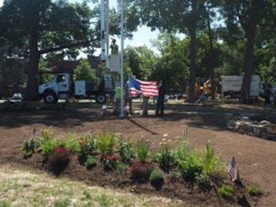 Remembrance and Honor – a Healing Garden at the Veteran's Home in Rocky Hill