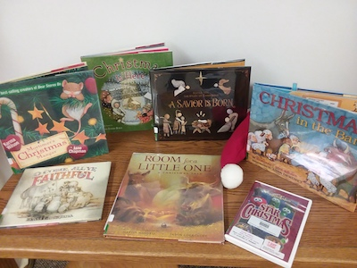 Nativity StoryTime at Yoakum County Library in Plains!