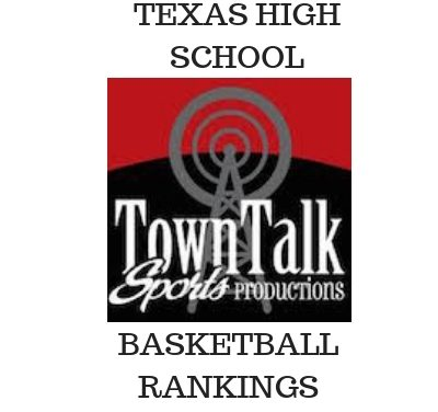 Texas High School Basketball Rankings with Area teams faring well.