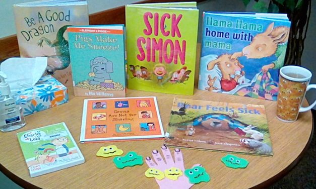 Yoakum County Library in Plains, Staying Healthy at StoryTime