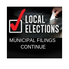 Municipal Election Candidate Filing Deadline is getting Closer with New Filings