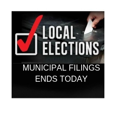 Municipal Elections Filing will soon come to a close, a few more file.