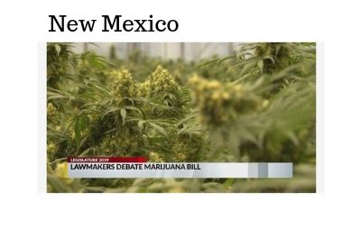 (New Mexico) Marijuana legalization bill narrowly passes House following Roundhouse debate