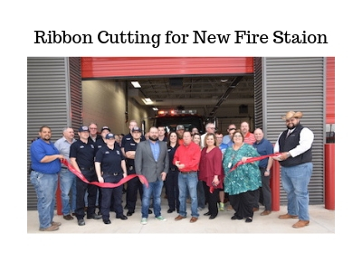 Brownfield's New Fire Station gets Ribbon Cutting